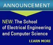 announcement - school of electrical engineering and computer science - learn more