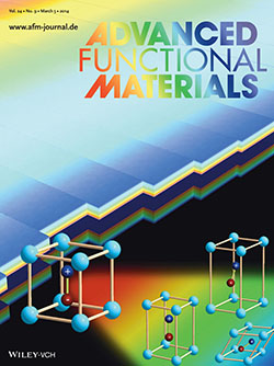 Advanced Functional Materials journal cover
